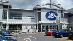 boots store and car park
