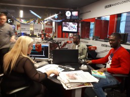 brothers being interviewed at bbc
