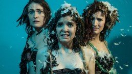 actresses covered in feathers